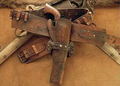 1858 Remington and holster