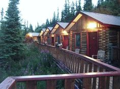 Denali Crow's Nest Cabins, Alaska- right across from the park and very nice!