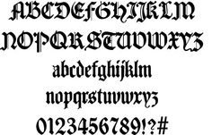 Traditio AH #fonts #typography #webdesign #gothic