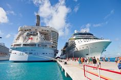Cruise port in St. Maarten #cruisestraveling