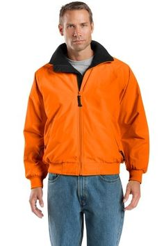 http://gobrandspirit.com/port-authority-safety-challenger-jacket/p/F61CD775-3473-4161-B906-242988193119  Port Authority - Safety Challenger Jacket. With Logo Imprinted  # J754S   1 Day Production  61.98 - 69.98  |  Min. Qty: 1  Our popular jacket in safety colors for enhanced visibility Durable 100 polyester water resistant shell Poly filled body with heavyweight fleece lining for extra warmth Nylon sleeve lining for easy on off Rib knit cuffs and waistband Slash zippered pocketsinterior…