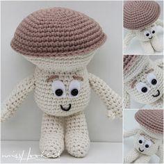 Read all about gratis haakpatroon haken-haak-lidl on yoors. Crochet Fruit, Crochet Food, Cute Crochet, Crochet Baby, Lidl, Crochet Patterns Amigurumi, Amigurumi Doll, Crochet Mushroom, Magic Crafts