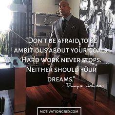 Dwayne Johnson Motivational Picture Quote
