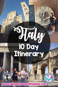Italy in 10 Days | 10 Days in Italy | Italy Day 10 Itinerary | 10 Day Itinerary to Italy | Things to do in Italy | Where to Visit in Italy | Places to See in Italy