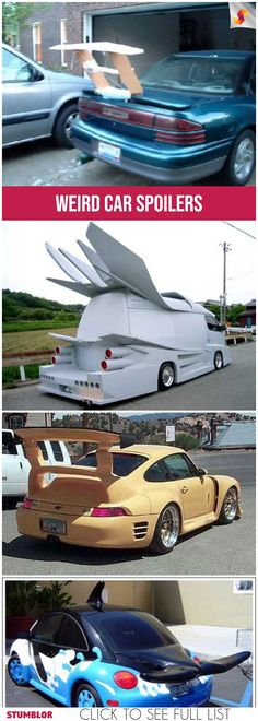 Car Spoilers To Make You Laugh #car #cars #spoilers #fun #humor #hilarious #funny #funnypics #funnypictures #fun #fashion