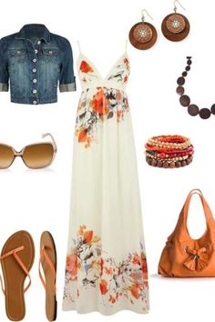 I love Maxi dresses that can be styled in multiple ways