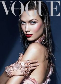 KARLIE KLOSS -1-1-15 - AN AUSPICIOUS START TO A NEW YEAR WITH ONE OF THE REIGNING VICTORIA'S SECRET ANGELS.