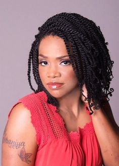 Afro Kinky Twists Braid Styles Prudence throughout size 1143 X 1600 Picture Of Kinky Twist Braids Hairstyles - Braided hairstyles are extremely popular Afro Twist Braid Hairstyles, Side Curly Hairstyles, Chic Hairstyles, African Braids Hairstyles, Twist Braids, Hairstyle Ideas, Crazy Hairstyles, Hair Twists, Dread Hairstyles
