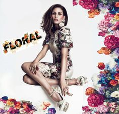 Olivia in the Floral Trend