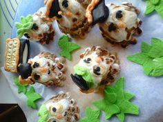cupcake topper gufi laurea
