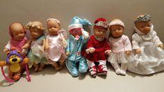 Baby born miniworld 7 Puppen mit toller Bekleidung , Raritäten, unbespielt  in Spielzeug, Puppen & Zubehör, Babypuppen & Zubehör | eBay!
