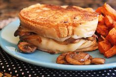 If you love a good grilled cheese sandwich and are a mushroom fan, this amazing sandwich is calling your name, friends! I sauteed some mushrooms and onions in a little bit of butter and then tossed…