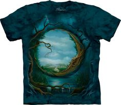 Мужская футболка THE MOUNTAIN Волшебная долина, код товара- 4754, цена: 21 $