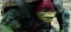 """Raphael says, """"Oh, this is awkward."""""""
