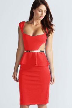 100% Polyester Fashion Sexy Falbala Hollow Out False Two-piece Slim Women Ladies Dress