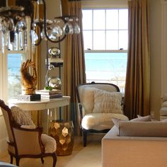 Living Room and Gold