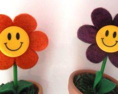Mini Flor em Feltro