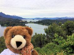 Der Urlaubär von ferienwohnungen.de in Bariloche in der argentinischen Schweiz am Fuße der Anden, Argentinien, Chile ... #urlaubär #argentinien #bariloche