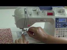 Máquina de Costura Brother NX450Q - Calcador para  Ziper