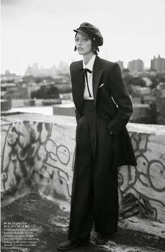 Sasha Pivovarova por Glen Luchford para Vogue Paris Novembro 2014  [Editorial]