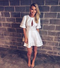 Anna Heinrich.. Keepsake the Label dress..