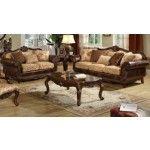 Acme Furniture - Remington 2 Piece Bonded Leather Sofa Set - 50155S+L