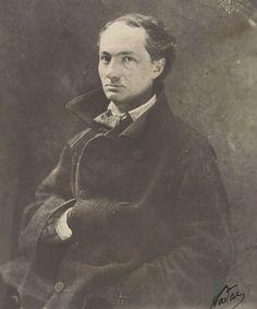 31 août 1867 : mort du poète Charles Baudelaire. Illustration : Charles Baudelaire. Photographie de Nadar