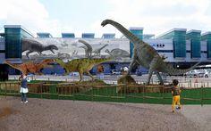 福井駅前 #Dinosaurs #FukuiStation