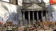 Диорама Рейстарх Берлин 1945 \Diorama of Rastar Berlin 1945