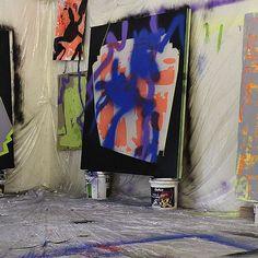 Tira Walsh, WIP,  Studio shot, Nov 2015