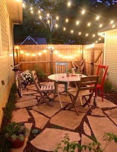 Small backyard for your home