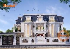 Classic House Design, Grand Foyer, Bungalow House Plans, Modern Mansion, Classic Architecture, Mansions Homes, Villa Design, Architect Design, Luxury Villa