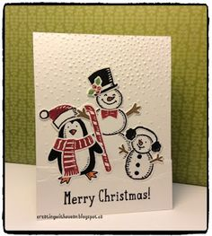 Creating With Susan : Snow Friends