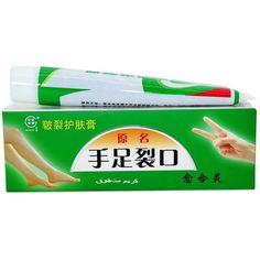 تشقق كعب القدم الكراك كريم اليد تقشير القدم واليد إصلاح مكافحة الكراك الجاف الجلد الصينية الطبية مرهم كريم البشرة الرعاية