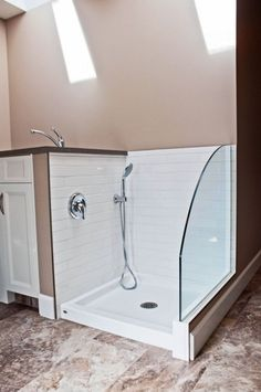 Part 2: Dog shower stations are a great idea for mud rooms! Put a dog shower in the garage, mud room or laundry to make cleaning the dogs much easier. It's also a great place to clean off boots or messy kids as they try to bring their dirt into the house: http://goo.gl/n3TD3p #showermudroom #dogshowers #mudroom #dogshowerdesign #dogbathroom #laundryroom #homedesign #homeimprovement #showerenclosures #showerdoors