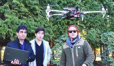 """At Simon Fraser University in Burnaby, British Columbia, a group of students have created a 3D printed drone they say they can use to enable security professionals to effectively reduce """"blind spots"""" and create more robust security systems."""