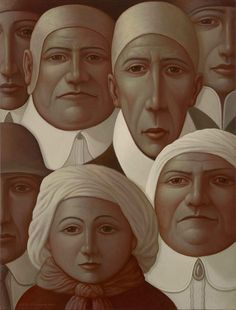 Family and Friends by George Underwood