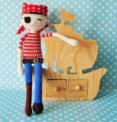 Pirata em croché