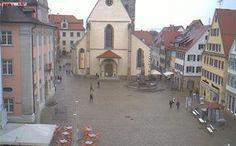 Webcam Rottenburg am Neckar - Marktplatz (Germany) daylight