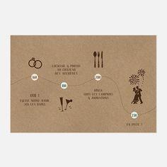 Kraftpapier-Hochzeits-Programm, Retro Kraftpapier-Retro Briefpapier Quelle : save-the-date-shop. Vintage Wedding Invitations, Wedding Invitation Design, Wedding Stationery, Announcement Cards, Wedding Announcements, Wedding Programs, Wedding Cards, Faire Part Vintage, Georgia Wedding Venues