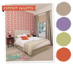Perfect Palette - for more decorating ideas, go to housetohome.co.uk/styleathome