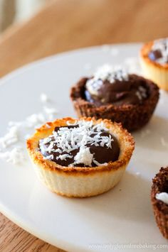 Coconut Chocolate Cups - Gluten, Dairy & Refined Sugar Free Dessert