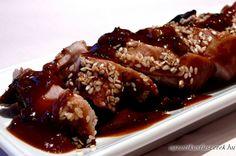 Hoisin Sertés Szűzpecsenye - Kínai konyha - Receptek Messzeföldről - Egzotikus fűszerek
