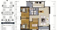 Kính gửi đến quý khách hàng đang quan tâm đến căn hộ cao cấp tại chung cư Goldsilk Complex 430 Cầu Am, Vạn Phúc, Hà Đông thiết kế căn hộ 3 phòng ngủ 98.73m2
