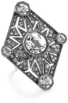 House of Harlow 1960 Gunmetal Four Point Triangle Ring, Size 6 House of Harlow 1960, http://www.amazon.com/dp/B004QWYZCC/ref=cm_sw_r_pi_dp_p9evrb19YF2QT