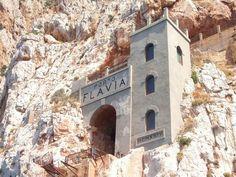 Porto Flavia, Sardegna Sardinia, Sicily, Family History, Bella, Places To See, Mount Rushmore, Culture, Vacation, Mountains
