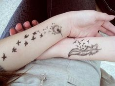 Birds-Tattoos-on-Arm-for-Women