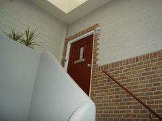 Huisdeur en portiek