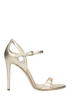 DEI MILLE | Dei Mille Dei Mille Platimun Calf Leather Sandals #Shoes #Sandals #DEI MILLE