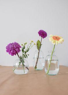 mini bloemen vazen